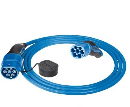 Preisvergleich Produktbild MENNEKES 36213 Ladekabel | 32A | 3-phasig | Stecker: TYP 2 | 4 m