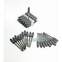 Portal Cool Pulidoras de Caucho Silicone 50pcs pulidoras diamantadas 2.35mm Gris