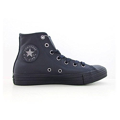CONVERSE ALL STAR CT HI BLU PELLE 155133C - 43, (Converse Donna All Star Hi)