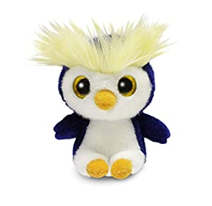 Aurora World 61086 - Peluche de Peluche, Color Azul y Blanco