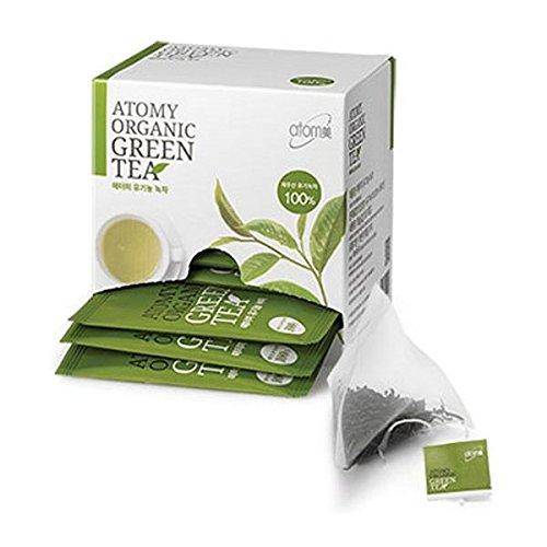 ATOMY Organic Green Tea, 18 Tea Bags, 36G(2G X 18Ea)