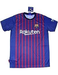 3a742222d4 FC. Barcelona Camiseta Réplica Infantil Primera Equipación 2018 2019 -  Dorsal Liso - Producto