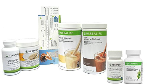 Herbalife Shape works plus - Programm zur Gewichtskontrolle mit erhöhtem Proteinanteil – 6teilig mit Proteinbedarfsrechner - 6 Geschmacksrichtungen zur Auswahl