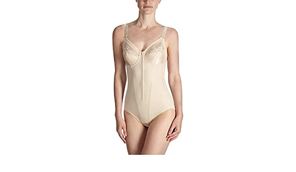 8c1cf5a0d248 Anita Comfort Women`s Non-Wired Corselet With Front Zip, ANI-3451, 42C,  skin: Amazon.co.uk: Clothing