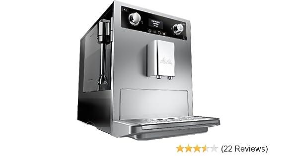 Melitta Gourmet E965 101 Bean To Cup Coffee Machine Silver