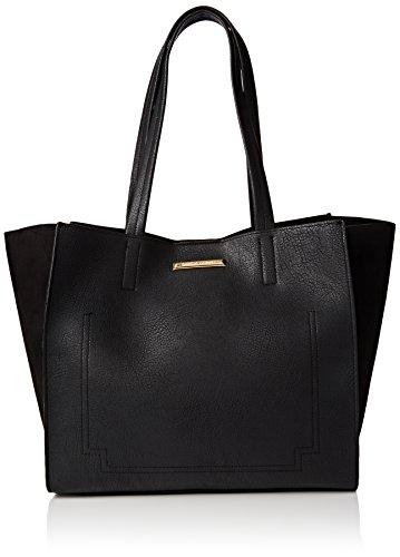 dorothy-perkins-womens-daisy-shopper-tote-black-black