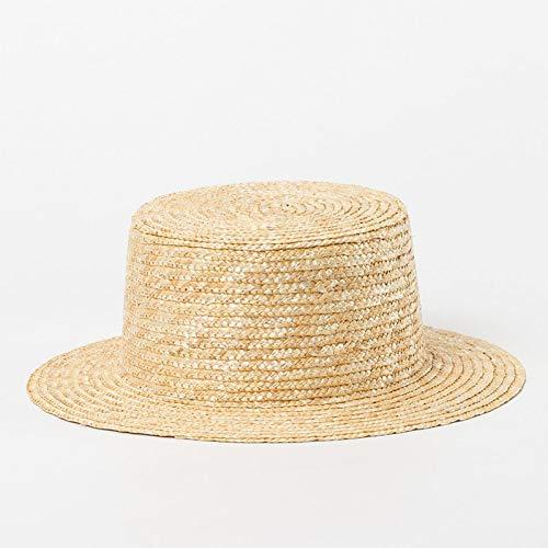 Sommer-Hut-Baby-Strohhut-Jungen-Mädchen-breiter Rand Sun-Strand-Hut-Hut-Hut-Hüte Kentucky Derby-Kleiner Hauptboot ()