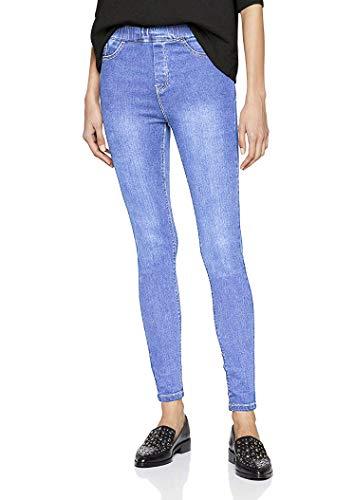 QZS Clothing Skinny Denim Jegging, Legging, Tights by (54, Lite Blue)