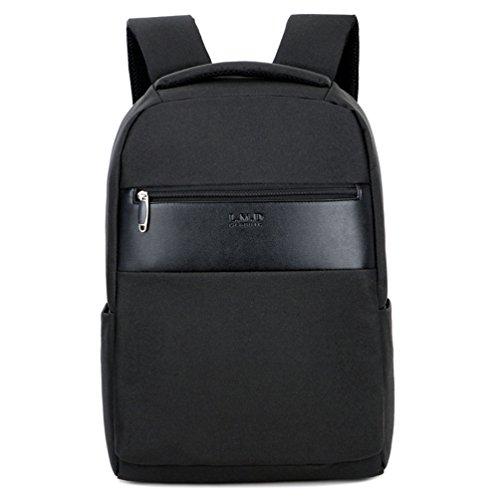 MTTLS Laptop Rucksack 15,6 Zoll Schule Bookbag Slim Business-Rucksack Für Notebook-Computer HP Lenovo Samsung Sony Und Arbeit,Black 190 Ipod