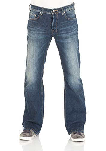 LTB Herren Jeans Tinman - Bootcut - Springer Wash, Größe:W 33 L 32 Herren-relaxed Fit Casual Pant
