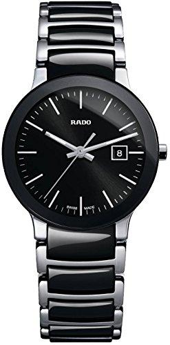 Rado Centrix Damen-Armbanduhr 28mm Armband Edelstahl + Gehäuse Quarz R30935162