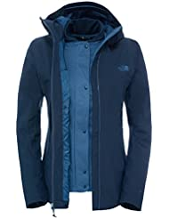 North Face W Meaford Triclimate Jacket - Chaqueta para mujer, color azul, talla L