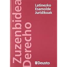 Latinezko Esamolde Juridikoak (Derecho Serie Minor)