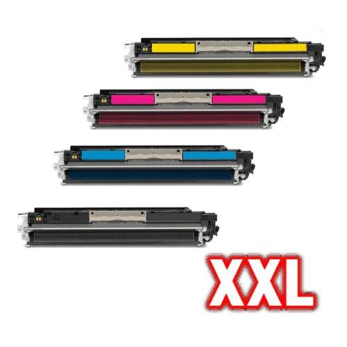 Preisvergleich Produktbild 4x Kompatible Toner für HP CE 310A CE 311A CE 312A CE 313A HP126A LaserJet Pro200 Color MFP M275a LaserJet Pro CP 1025 LaserJet Pro CP 1025NW - SET
