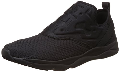 Reebok Classics Men's Furylite Slip-On Ww Black Running Shoes – 7 UK 41fsMJO3foL