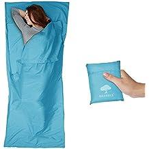 Saco de Dormir - Sabana, Bolsa de Dormir - Ultraligero Multifunción - 100% Microfibra