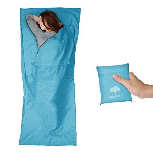 Bramble Drap de Sac de Couchage - Sac Doublure Ultraléger et Respirant en Polyester de Microfibre - Pour le Camping et le Voyage