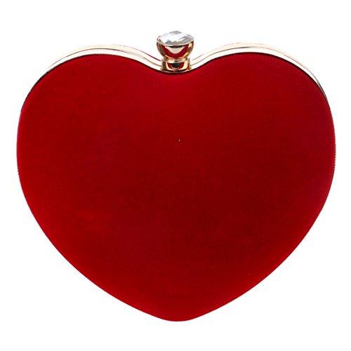 HAPPYTIMEBELT, Poschette giorno donna Red
