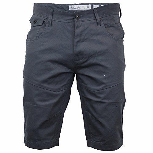 Periskop Tasche (Herren Knielang Chino Shorts By Crosshatch - Periskop - Amalga 16, W38 x Regulär)