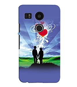LG Google Nexus 5X MULTICOLOR PRINTED BACK COVER FROM GADGET LOOKS