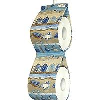 Ersatzrollenhalter Zeitschriftenhalter Toilettenpapierhalter Motiv