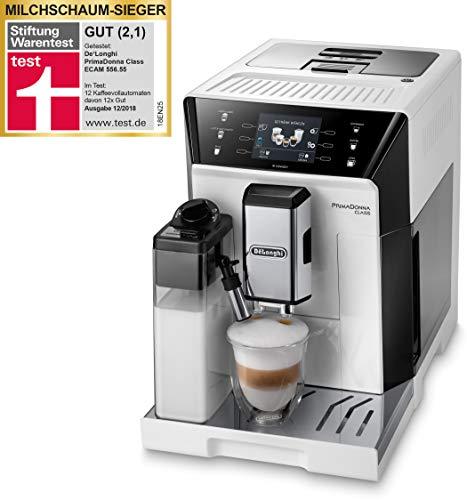 DeLonghi ECAM 556.55.W Macchina per caffè Libera Installazione Macchina da caffè Combi Bianco 2 L Automatica - DeLonghi ECAM 556.55.W, Libera Installazione, Macchina da caffè Combi, 2 L,