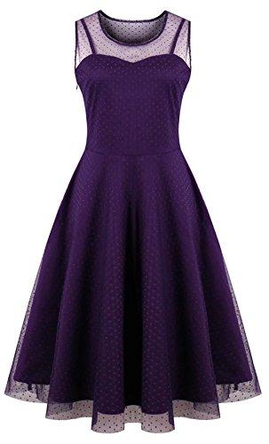 Oriention Oriention Plus Größe Elegant Damen festliche Kleider Spitzenkleid Cocktailkleid...