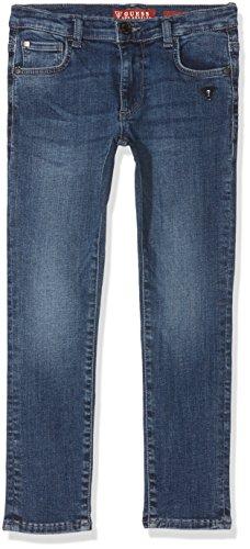 Guess Baby-Jungen Jeans Denim Skinny Fit_Core, Blau (Soft Blue Image Stone), Neonato (Herstellergröße: 2) (Jeans Guess Baby)