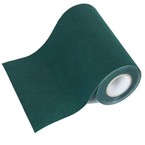 8 Gewebten Teppich (BUNDMAN Kunstrasen Nahtband Selbstklebend Rasen im Freien Band zum Verbinden Festsetzung Synthetischer Rasenteppich Verbindung Gefälschte Grasmatte 15cm X 15m)