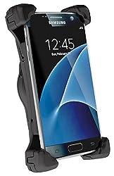 Telebox Bury 3XL System 9 Charging Cradle/Ladehalterung für Samsung Galaxy S8 / S8+ / Huawei P10 / P9 / OnePlus 3 / 3T / 2 und andere große Smartphones bis 165mm inkl USB-C Ladeadapter