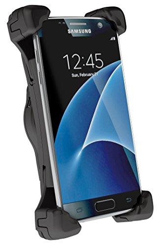 Telebox Bury 3XL System 9 Charging Cradle/Ladehalterung für Samsung Galaxy S8/S8+/Huawei P10/P9/OnePlus 3/3T/2 und Andere Große Smartphones bis 165mm inkl USB-C Ladeadapter (Handy-system)