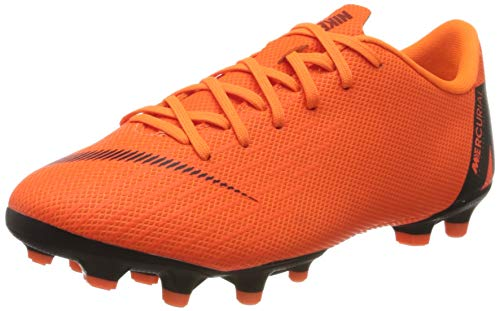 Nike Unisex-Kinder Jr. Mercurial Vapor XII Academy Fitnessschuhe, Mehrfarbig (Total Orange/Black-T 810), 35.5 EU