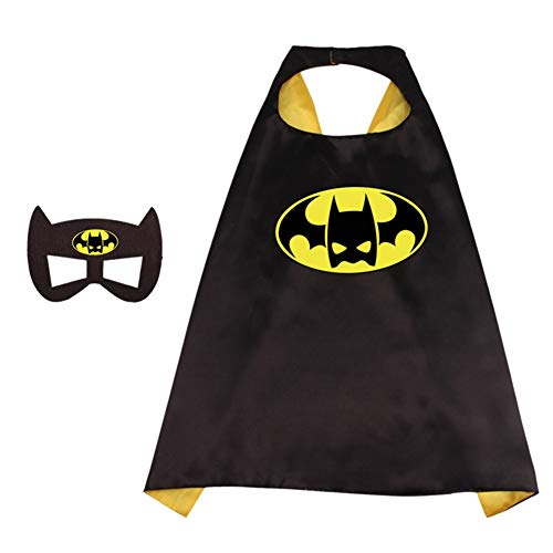 Up Superhero Dress Kostüm - RosewineC Superhero Capes Dress Up Costumes for Kids Boys Girls Party Favors Cartoon Capes for Kids(one size 1 with mask)
