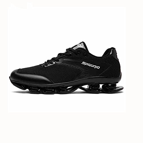 YIXINY Schuhe Mode Herrenschuhe Sport Im Freien Laufschuhe Atmungsaktiv Stoßdämpfung Frühling Und Sommer ( Farbe : Schwarz , größe : EU40/UK7/CN41 )