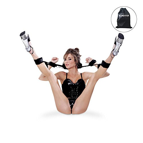 BDSMS Bondage Set Open Thigh Spreader Körper Hand Fuß Fesseln Set Restraint Fetisch Spielzeug … (Fesseln Set)