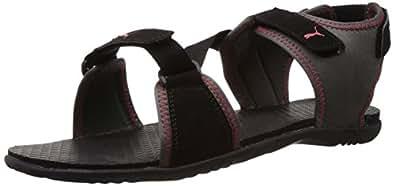 Puma Unisex Woody DP Black Athletic & Outdoor Sandals - 10 UK