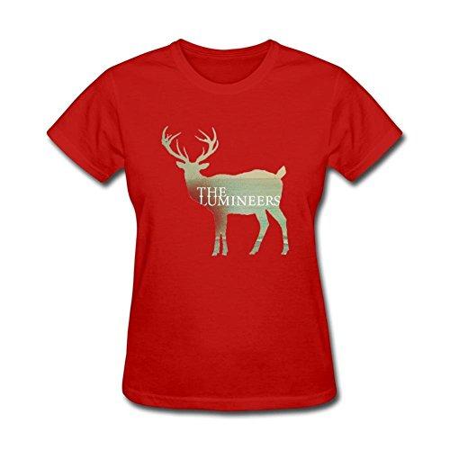 pk6b7d-la-lumineers-t-shirt-per-le-donne-red-medium