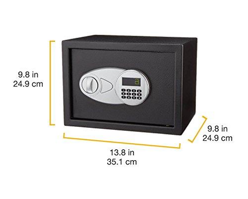 AmazonBasics Security Safe - 0.5-Cubic Feet,Black