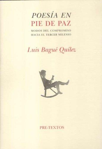 Portada del libro Poesía en pie de paz (Narrativa contemporánea)