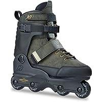 FreeWheeling 4 St/ück Inliner Skate//Skateboard Rollen Aggressive 57mm Schwarz-Rot 1117576