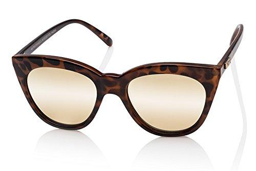 Le Specs LSP1402042 Tortoise Halfmoon Magic Cats Eyes Sunglasses