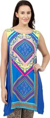 Desi Belle Casual Sleeveless Printed Women's Top