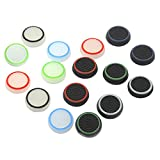 16PCS Silicone Analog Controller Thumb Stick Grips Cap Cover For PS4 PS3 Xbox One Game Accessories Replacement Parts