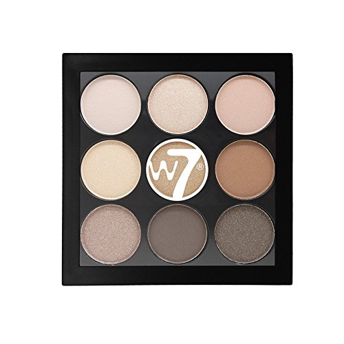 W7 The Naughty Nine Shades of Eye Colour Eyeshadow Palette-Arabian Nights