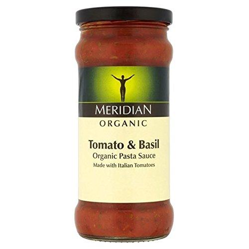 Meridian Gratuit De Tomate Bio & Basilic Sauce Pour Pâtes 350G - Paquet de 6