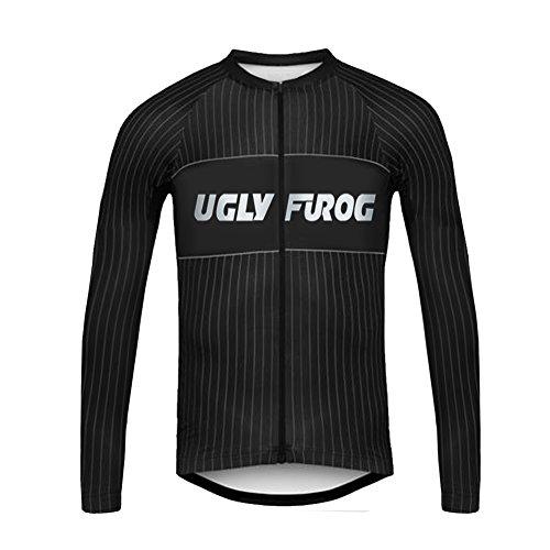 UGLYFROG #T15 Radsport Trikots Lange Ärmel Sport & Freizeit Shirts Winter Style (Condor-anzug)