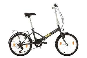 KS Cycling, Bicicletta pieghevole 20 Zoll Toulouse RH 32 cm, Grigio (grau)