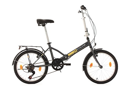 KS Cycling Fahrrad Klapprad Toulouse RH 32 cm, Grau, 20,...