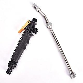 Pressure Wash Spray Gun, Home Garden Car Water Jet High Pressure Power Washer Spray Nozzle Watering Gun, Garden Hose Attachment with Soap Dispenser and Brush(48cm)