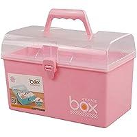 Mayish Aufbewahrungsbox mit Deckel, klein, Kunststoff, Pink preisvergleich bei billige-tabletten.eu